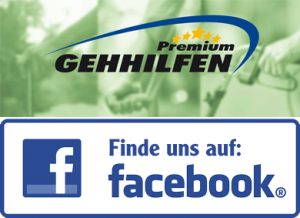 Facebook Logo mit Hinweis