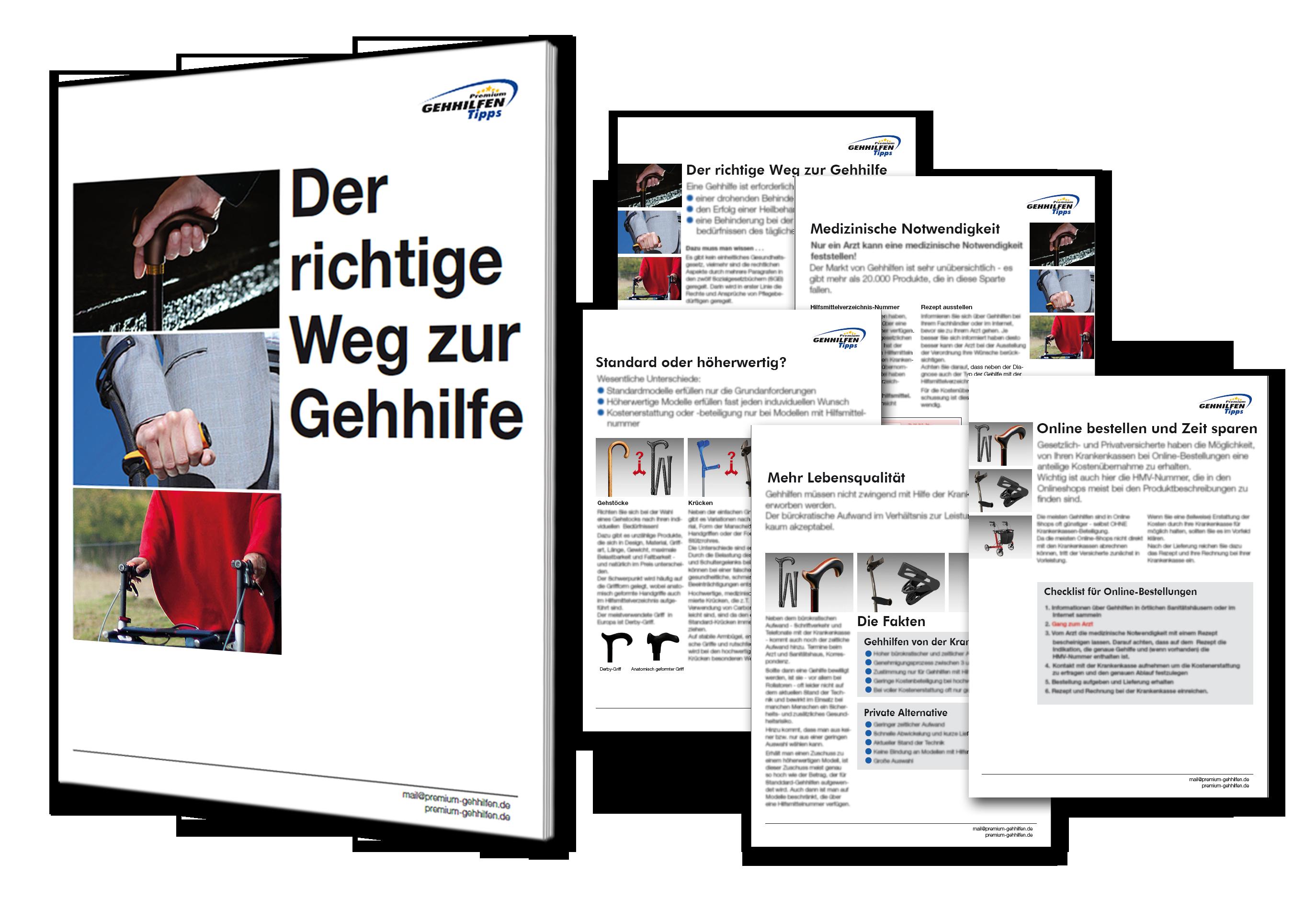 Broschüre Tipps Gehilfe